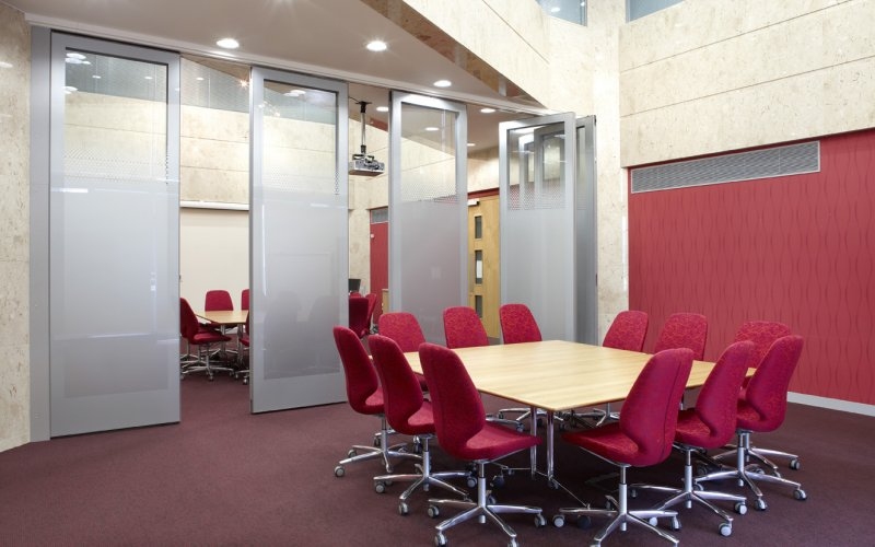 GS 100 Double Glazed Movable Wall