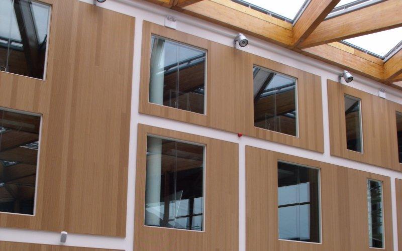 Topakustik Curved & Flat Panels At Bluecoat School