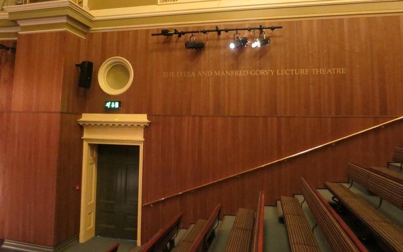 Topakustik Walnut Veneered Planks At The V & A Museum